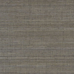 """Phillip Jeffries Horsehair Wallpaper - This gorgeous wallpaper is available in multiple colors and has the look and feel of real horsehair.  It's all the luxe without the """"icky"""" factor!"""