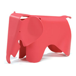 Zuo - Elephant Chair, Pink - Put the fun back in functional!  The Elephant chair is is made out of durable, scratch-free polypropylene and is perfect for any kid-friendly space.  This fun kid-proof seating is available in many colors.