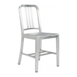 Emeco Navy Chair Armless, Brushed