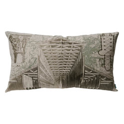 Roman Architecture Pillow