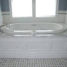 Traditional Bathroom by Gem Builders Carpentry, LLC.