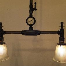 Industrial Ceiling Lighting by AES Mobile Studios