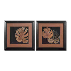 Black Balazo Framed Art, Set of 2