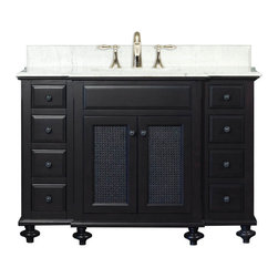 London Collection Bathroom Vanities - Solid wood construction, fully assembled