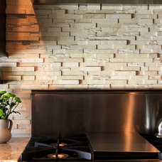 tropical kitchen tile by Azura Stoneworks