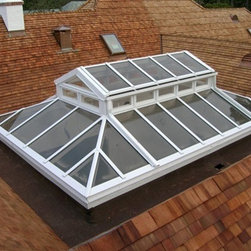 Lantern Skylight - This is a Lantern Skylight or sometimes referred to as a Conservatory roof system.