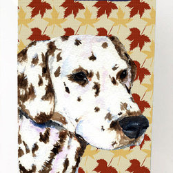 Caroline's Treasures - Dalmatian Fall Leaves Portrait Michelob Ultra Koozies for slim cans SS4387MUK - Dalmatian Fall Leaves Portrait Michelob Ultra Koozies for slim cans SS4387MUK Fits 12 oz. slim cans for Michelob Ultra, Starbucks Refreshers, Heineken Light, Bud Lite Lime 12 oz., Dry Soda, Coors, Resin, Vitaminwater Energy, and Perrier Cans. Great collapsible koozie. Great to keep track of your beverage and add a bit of flair to a gathering. These are in full color artwork and washable in the washing machine. Design will not come off.