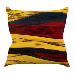 """Kess InHouse - Brittany Guarino """"Sheets"""" Throw Pillow (16"""" x 16"""") - Rest among the art you love. Transform your hang out room into a hip gallery, that's also comfortable. With this pillow you can create an environment that reflects your unique style. It's amazing what a throw pillow can do to complete a room. (Kess InHouse is not responsible for pillow fighting that may occur as the result of creative stimulation)."""