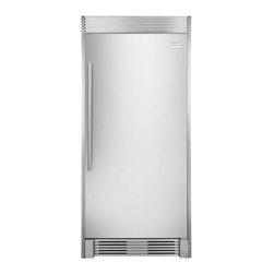 Frigidaire 18.6 cu. ft. All Refrigerator - I love the industrial feel of having a separate refrigerator and freezer.  If you have the space and buy in bulk it is a great way to get the storage that you need.