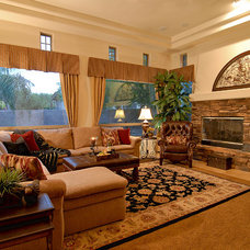 Transitional Family Room by La-Z-Boy Home Furnishings & Décor of Arizona