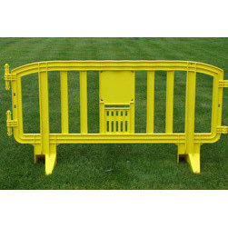 MLR INTERNATIONAL - Movit Barricade - Yellow - Yellow Plastic Movit Barricade