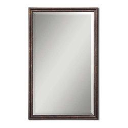 Uttermost - Uttermost 14442 B Renzo Bronze Vanity Mirror - Uttermost 14442 B Renzo Bronze Vanity Mirror