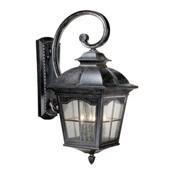 Vaxcel - Arcadia Burnished Patina Outdoor Wall Sconce - Vaxcel AD-OWU130BP Arcadia Burnished Patina Outdoor Wall Sconce