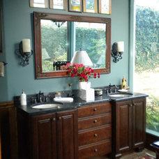 Traditional Bathroom by Saunders Bradford