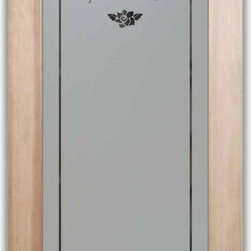 , as pantry door glass insert only or pre-installed in a door frame ...