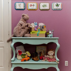 Eclectic Nursery by True Interiors, LLC