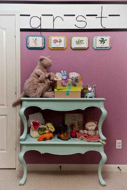 Eclectic Nursery by True Interiors, LLC