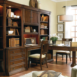 Hooker Furniture - Hooker Furniture Cherry Creek Open Hutch 258-70-417 - The Cherry Creek modular wall system allows you to design the function you need at a price much more affordable than custom built systems.