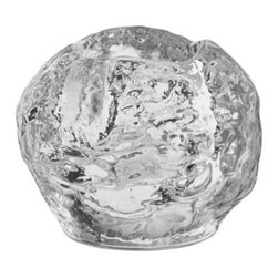 Kosta Boda - Snowball Votive - Skiing, sledding, snowball fights, then candlelight dinners with family and friends. Not surprisingly, many Kosta Boda products allude to weather and to the comforts of home. Our handmade Snowball Votive is a crystal lantern sparkling with warmth and magic winter light. Since its introduction in 1973, Snowball is our all-time bestselling product.