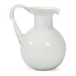 IMAX CORPORATION - Simmons Milk Glass Pitcher - Simmons Milk Glass Pitcher. Find home furnishings, decor, and accessories from Posh Urban Furnishings. Beautiful, stylish furniture and decor that will brighten your home instantly. Shop modern, traditional, vintage, and world designs.