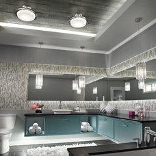 Contemporary Bathroom Vanity Lighting by Kichler