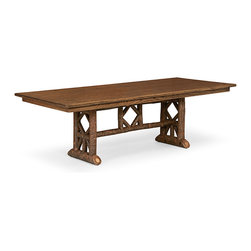 Rustic Dining Table #3121 by La Lune Collection - Rustic Dinng Table #3121 by La Lune Collection