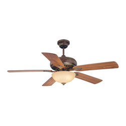 "Savoy House - Savoy House 52-854-5Rv-234 Banff 52"" Ceiling Fan W/ Blades/Lt.Kit - Savoy House 52-854-5RV-234 Banff 52"" Ceiling Fan w/ Blades/Lt.Kit"