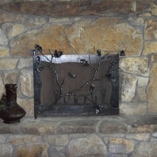 Traditional Fireplace Accessories by Oak Hill Iron
