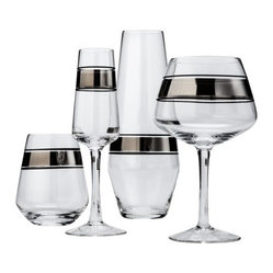 Threshold Metallic Cocktail Glasses