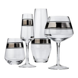 Threshold Metallic Cocktail Glasses - This elegant drinkware line is one of my favorites. The two-tone look really is eye-catching and elegant.