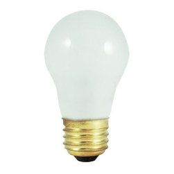 Bulbrite - Low Voltage Frost A15 Light Bulbs - 12 Bulbs - One pack of 12 Bulbs. 12 V incandescent E26 base type bulb. 360 degree beam spread. Dimmable. Heavy duty filaments. Lamps come with a heavy duty filament to last through tough applications. Ideal for retrofitting landscape fixtures and recreational vehicles. Wattage: 15 W. Lumens: 100. Color temperature: 2600 K. Color rendering index: 100. Average hours: 1000. Maximum overall length: 3.50 in.