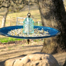 Eclectic Bird Feeders by Railroadware