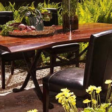 contemporary dining tables by Arhaus