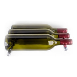 Vin de Garde Modern Wine Cellars - Nek Rite 3 - Vin de Garde Wall Mounted Wine Rack , Aluminum - Description