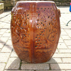 Asian Accent And Garden Stools by Etsy