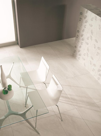 contemporary floor tiles by TAU