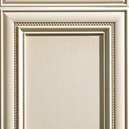 """Dura Supreme Cabinetry - Dura Supreme Cabinetry Wakefield Cabinet Door Style - Dura Supreme Cabinetry """"Wakefield"""" cabinet door style in Paintable shown with Dura Supreme's """"Antique White"""" with """"Espresso"""" Glaze finish."""