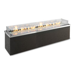 Custom Gas Fire Pit - Burners can be made up to 10 ft. long