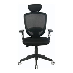 VIVA - VIVA OFFICE® Ergonomic Mesh High Back Multifunction Swivel Office Chair - VIVA Office, the professional office furniture supplier, now provides a great variety of excellent office chairs including ergonomic desk chair, task chair, executive & managerial chair, and more. With the combination of global intelligence, high quality material, reliable performance, and world class ergonomic design, VIVA keeps bringing best sitting experience to customers all over the world!All VIVA office chairs have passed the BIFMA testing standards for all applicable features.