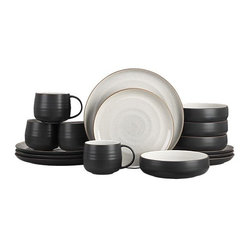 18th St. 16-Piece Dinnerware Set