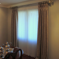 Traditional Window Treatments by Interior Views