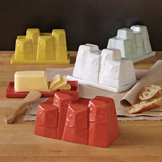 Eclectic Butter Dishes by West Elm