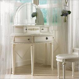 Emma's Treasures Vanity with Mirror - Emma's Treasures Vanity with Mirror by Lea Furniture