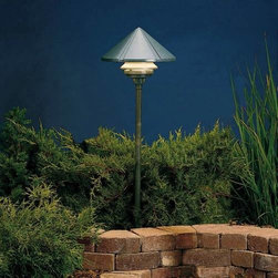 """Kichler - Kichler 15011AZT Six Groove Transitional Bronze Path & Spread Light 15011AZT - Textured Architectural Bronze finishBulb Included: Yes Collection: Six Groove Finish: Textured Architectural Bronze Height: 9.5"""" Primary Number of Lights: 1 Primary Wattage: 24.4 Watt Socket 1 Base: Wedge Socket 1 Max Wattage: 24 Style: Transition Switch Type: B Type: Land Path Light Voltage: 12 Volt Width: 11.5"""""""