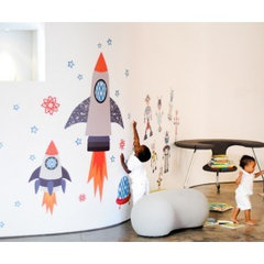 modern kids decor by Wall Sticker Shop