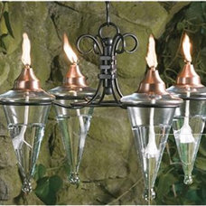 traditional outdoor lighting by garden.com
