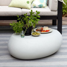 Contemporary Outdoor Coffee Tables by West Elm