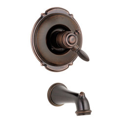 Delta Faucet Company - Delta Victorian Monitor 17 Series Tub Trim Only, Venetian Bronze (T17155-RB) - Features: