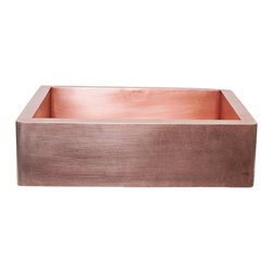 World CopperSmith - World CopperSmith Modern Farmhouse Kitchen Copper Sink - Like you, at World CopperSmith, we are not afraid to be different. That's why we created the modern farmhouse™ kitchen sink. Designed for the true copper enthusiast, no sealants, no lacquers, just a living finish that celebrates the natural beauty. Constructed completed from solid copper that is anti bacterial and can promote a healthy home. Stop worrying about scratches or maintenance. This sink is simple and sustainable, yet surprisingly refreshing. No risk, money back guarantee, free shipping.