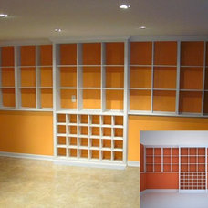 Contemporary Storage And Organization by Open Square Woodworking